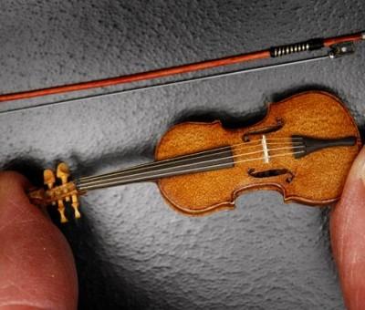 Como construir uma réplica de violino