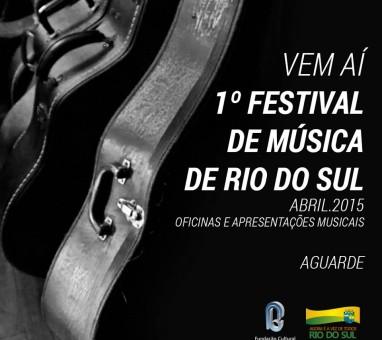1° Festival de Música de Rio do Sul